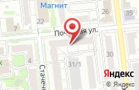 Схема проезда до компании Рада в Омске