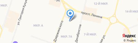 Выбирай на карте Сургута