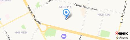 Детский сад №4 на карте Сургута