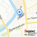 Гранд Аквилон 2000 на карте Омска
