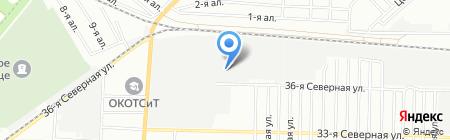 Интегра на карте Омска