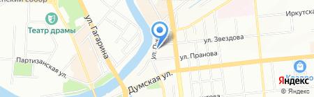Евразия Трейд на карте Омска