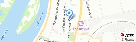 СКИФ на карте Омска