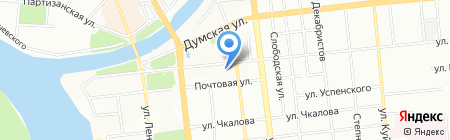 Луйс-оптика на карте Омска