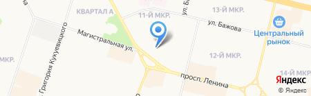 Виктория на карте Сургута