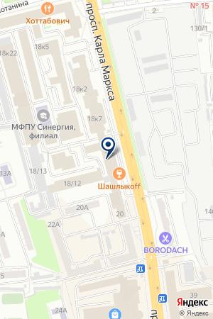 ПРОИЗВОДСТВЕННАЯ ФИРМА ЗОЛУШКА-СЕРВИС на карте Омска