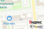 Схема проезда до компании Сеть салонов цветов в Омске