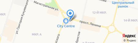 Бижулюкс на карте Сургута