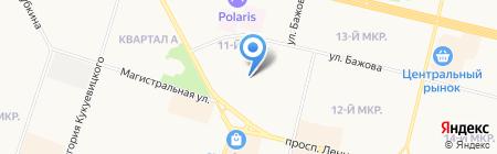 ЗАГС Сургутского района на карте Сургута