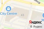 Схема проезда до компании Ханты-Мансийский банк Открытие в Сургуте