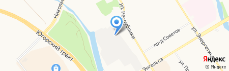 РАЗВАЛ-СХОЖДЕНИЕ ВЯЧЕСЛАВОВИЧА на карте Сургута