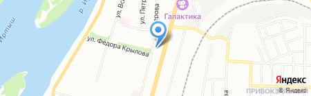 Фонд объединения и развития территориального общественного самоуправления Ленинского административного округа г. Омска на карте Омска