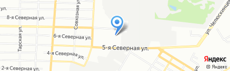 Ромашка на карте Омска