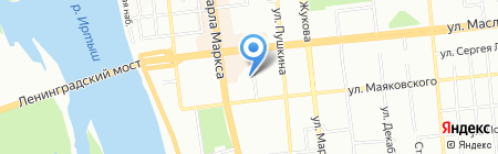 Лаки-Тур на карте Омска