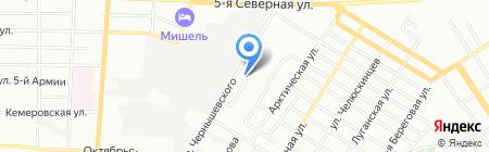 Детский сад №185 на карте Омска