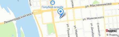 ТОНЕР на карте Омска