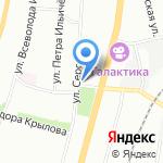 Провиант на карте Омска