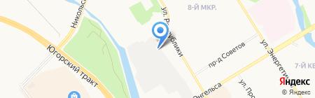 RinooS на карте Сургута