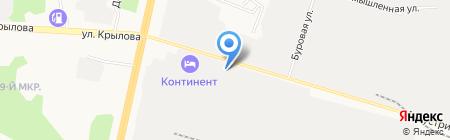 Обжорка на карте Сургута