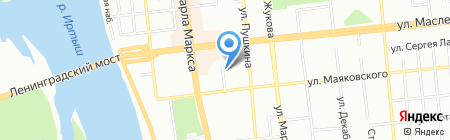 Госпожа на карте Омска