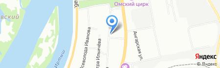 ФудХимСервис на карте Омска