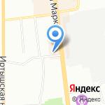 Элтаб на карте Омска