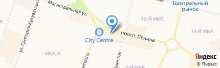 Талисман на карте Сургута