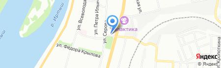 Истина на карте Омска