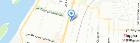 АвтоТралОмск на карте Омска