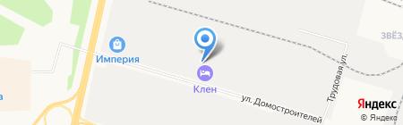 Теплоспецмонтаж на карте Сургута