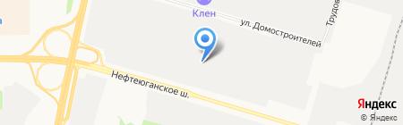 ЕВРОПАРТ Рус на карте Сургута
