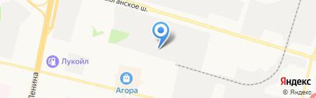 КБГ на карте Сургута