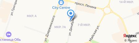 Деятели культуры и искусства ХМАО-Югры на карте Сургута