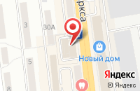 Схема проезда до компании Оксюморон в Омске