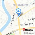 Палермо на карте Омска