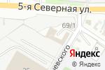 Схема проезда до компании Green Service в Омске