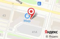 Схема проезда до компании Телесемь в Сургуте