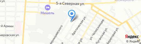 Общежитие Финансовый университет при Правительстве РФ на карте Омска
