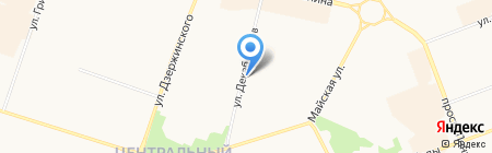 Мао на карте Сургута