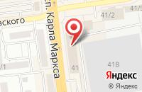 Схема проезда до компании Фирма «Алекто-Электроникс» в Омске