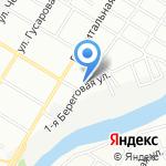 Автопарк55 на карте Омска