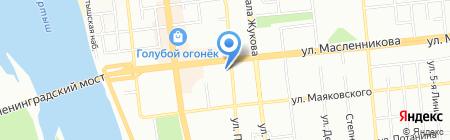 GpsCity на карте Омска