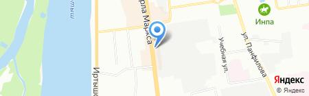 Olivia на карте Омска