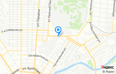 Местоположение на карте пункта техосмотра по адресу г Омск, ул Чернышевского, д 69