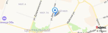 Дарина на карте Сургута