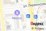 Схема проезда до компании ГАЛЕРЕЯ КЕРАМИКИ в Омске