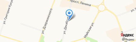 Лина на карте Сургута