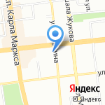 Fresh cosmetics на карте Омска