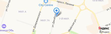 Магазин №49 на карте Сургута