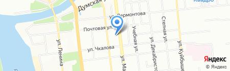 Спектра на карте Омска